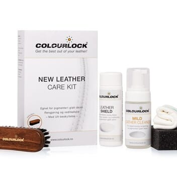 COLOURLOCK LEATHER CLEANING & CONDITIONING KIT - MILD