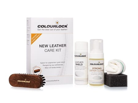 COLOURLOCK LEATHER CLEANING & CONDITIONING KIT-STRONG