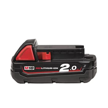MILWAUKEE M18 BATTERI 2 AMP