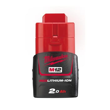 MILWAUKEE M12 BATTERI B2  2,0 AH