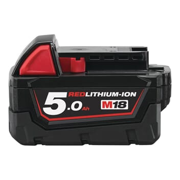 MILWAUKEE M18 BATTERI 5,0 AH