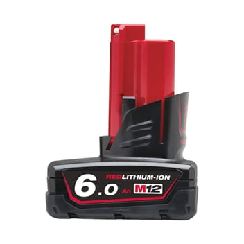 MILWAUKEE M12 BATTERI 6 AMP