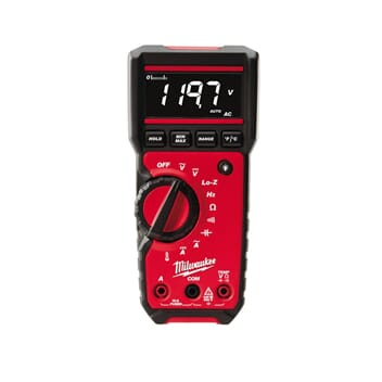 MILWAUKEE DIGITALT MULTIMETER 2217-40